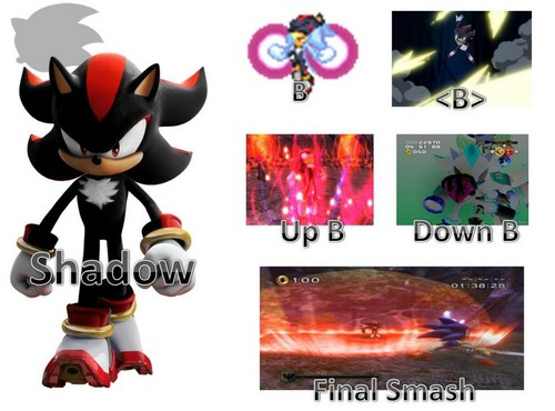 Shadow possible moveset