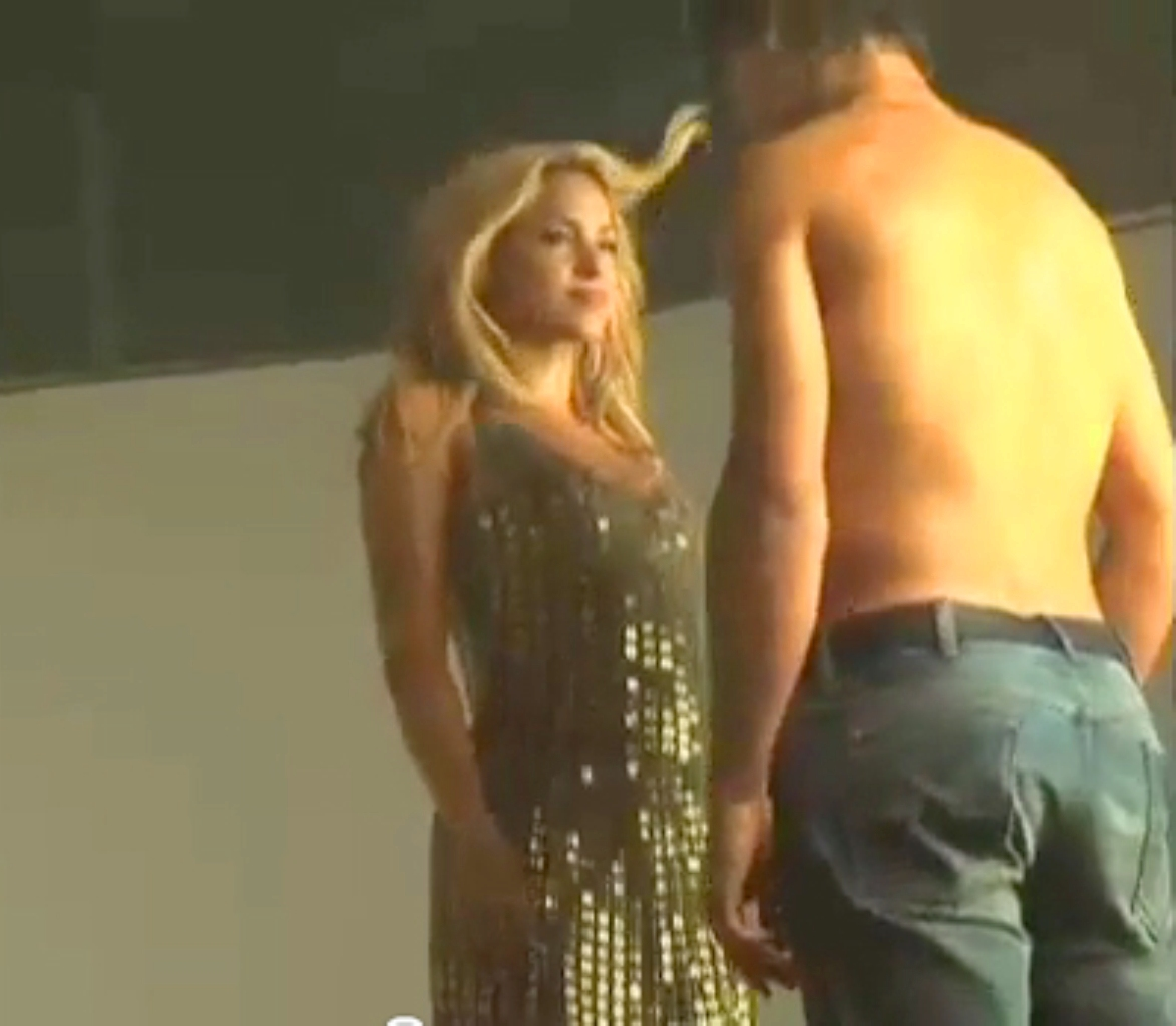 Shakira and Nadal ass..