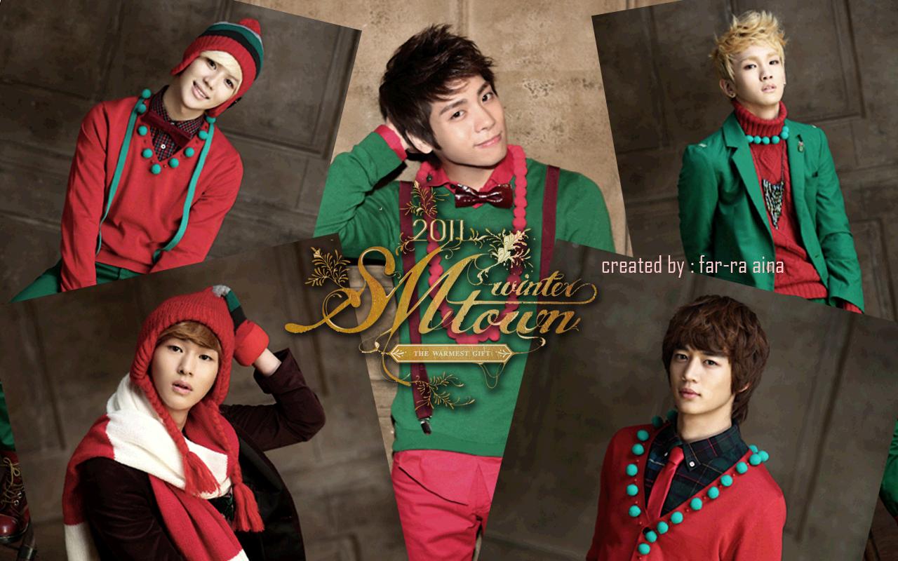 2011年クリスマスバージョンのSHINeeです。