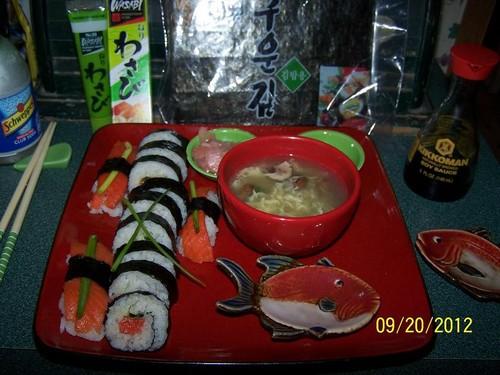 Sinna's Sushi Night