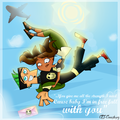 Skydivin' - total-drama-island fan art