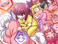 Sleepover! - angel-beats fan art