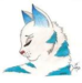 Snowfur - warrior-cats icon