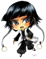 Chibi Soi Fon - anime fan art