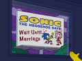 Sonic in the simpsons