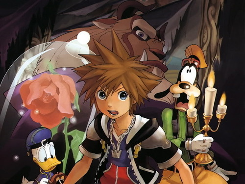 kingdom hearts wallpaper probably containing animê called Sora, Donald and Goofy