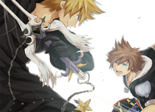 kingdom hearts images sora and roxas wallpaper and background photos