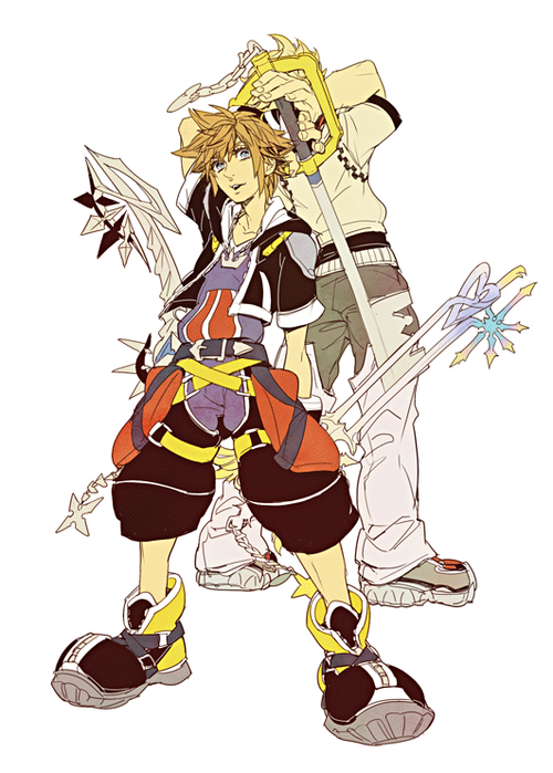 Kingdom Hearts Images Sora And Roxas Wallpaper Background Photos