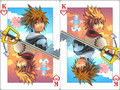 Sora and Roxas - roxas-and-sora photo