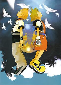 Sora and Roxas
