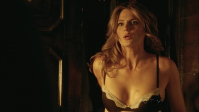 Stana Katic achtergrond with attractiveness titled Stana: kasteel 5x02