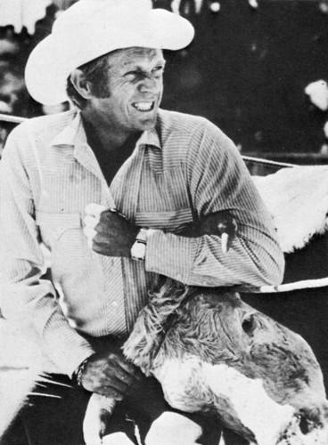 Steve McQueen in Junior Bonner, 1972