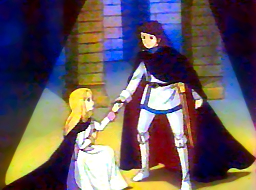 Susanna e Terence sulla scena