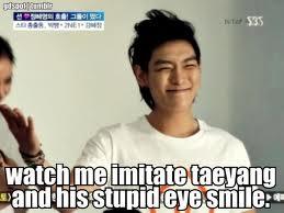 T.O.PShii Oppa, Imitating TaeYangShii's Eye Smile