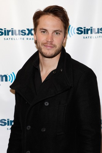 Taylor Kitsch wallpaper probably containing a trench coat entitled Taylor visits SiriusXM (Sep. 27th, 2012)