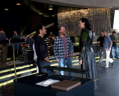 The Avengers unseen photo
