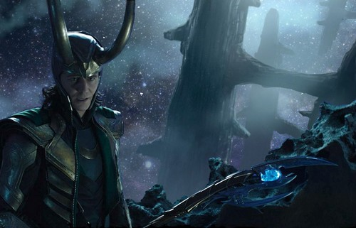 Loki (Thor 2011) hình nền probably containing a snorkel, an aqualung, and a diving suit entitled The Avengers unseen bức ảnh