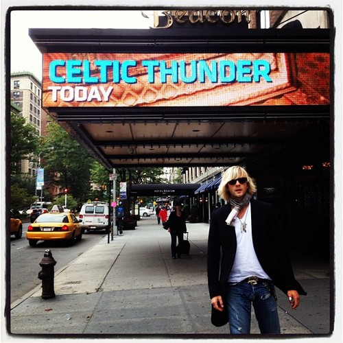 The Beacon Theather tonight #celticthunder #NYC