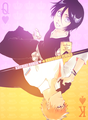 The Death Save The Strawberry - ichigo-and-rukia-sun-and-moon photo