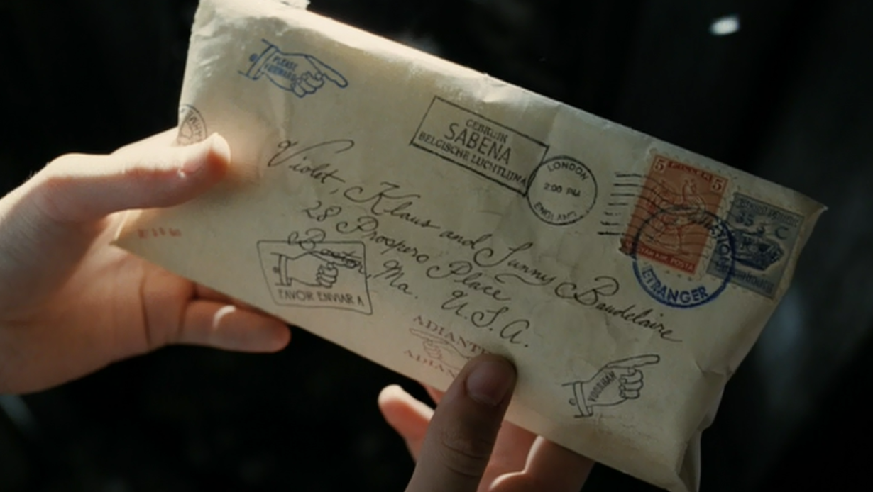 Violet, Klaus, and Sunny Baudelaire images The Letter That Never