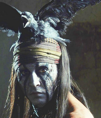 Johnny Depp as Tonto - The Lone Ranger 2013