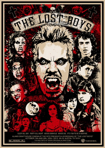 The Lost Boys Movie fond d'écran containing animé titled The Lost Boys