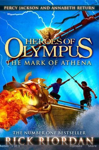 The Mark of Athena Cover(U.K)