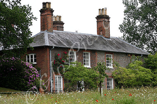 The Middleton's family home in Bucklebury, Berkshire
