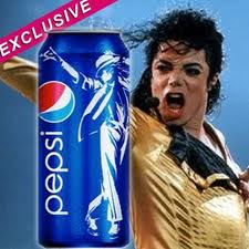The Special Edition Of Pepsi With Michael On The Can