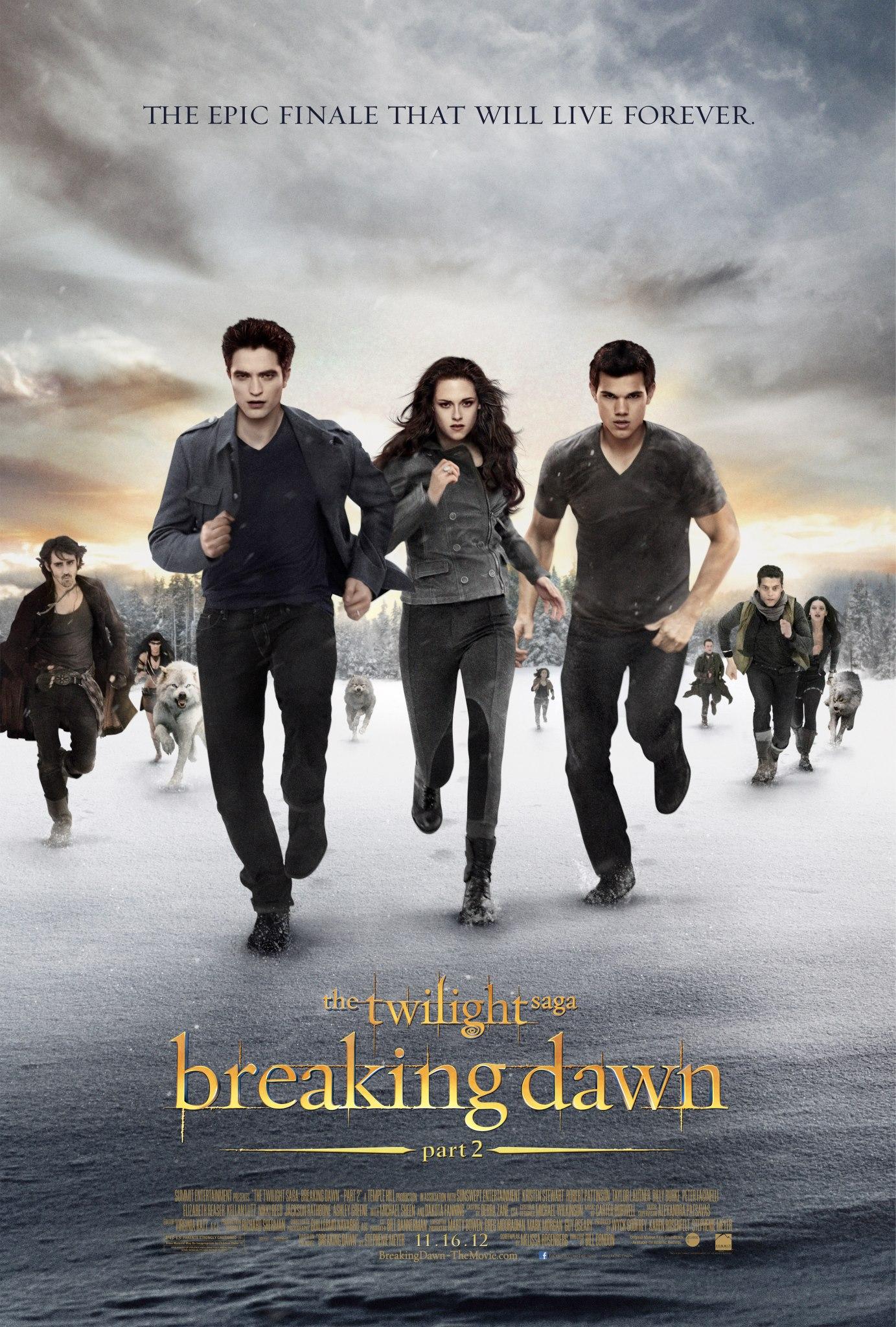 The Twilight Saga: Breaking Dawn Part 2 Poster