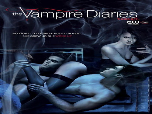 Vampire Diaries fond d'écran with animé called The Vampire Diaries