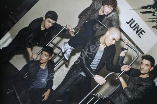 The Wanted Calender Shoot