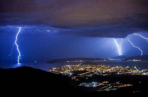 Thunderstorm in Croatia