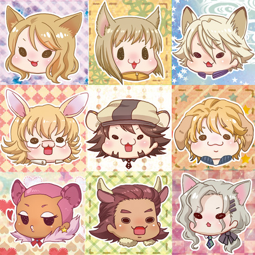 Chibi Tiger and Bunny