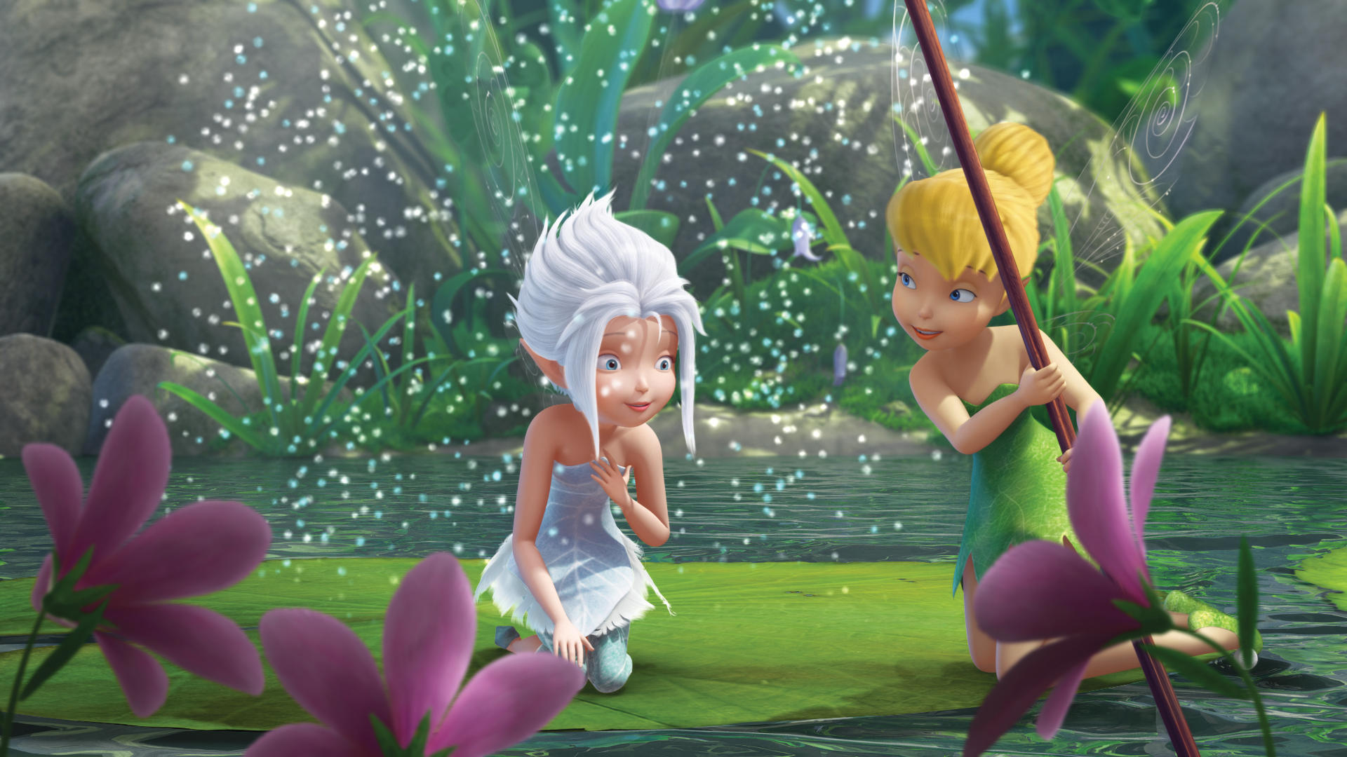 TinkerBell & PeriWinkle - Tinkerbell & the Mysterious ...