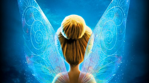 Tinkerbell & the Mysterious Winter Woods wallpaper probably containing a fountain entitled TinkerBell Secret Of The Wings