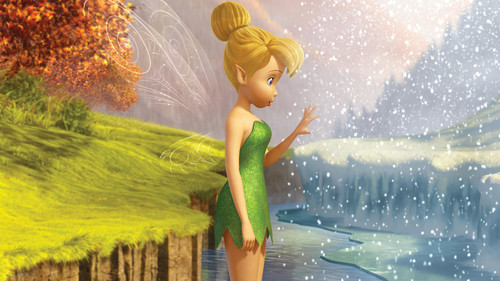 Tinkerbell & the Mysterious Winter Woods wallpaper entitled TinkerBell Secret Of The Wings