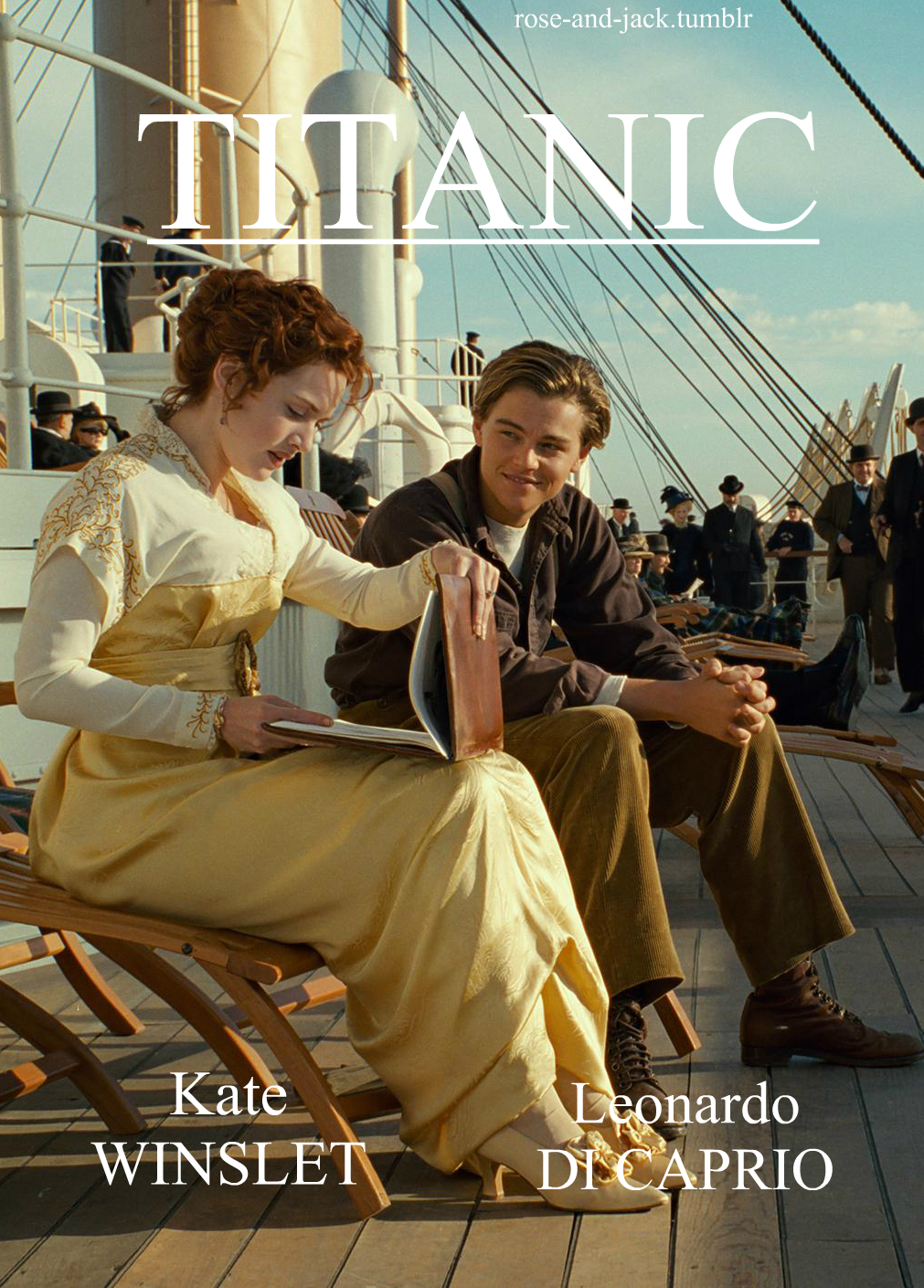 Titanic (http://rose-and-jack.tumblr.com) My Titanic poster