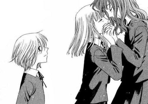 Tohru, Saki, and Arisa