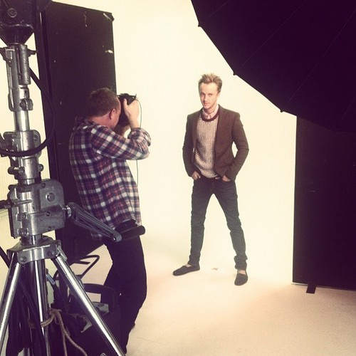 Tom Felton - asos photoshoot