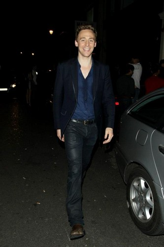Tom Hiddleston Thor 2 party in London - tom-hiddleston Photo