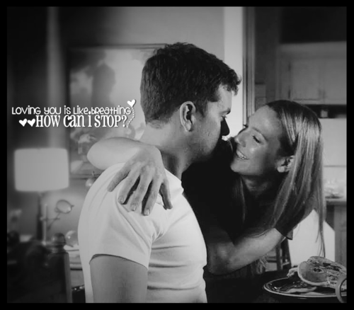 Anna Torv and Joshua Jackson fond d'écran probably with a portrait entitled Torvson l'amour ♥