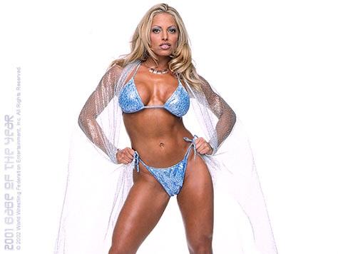 트리시 스트래터스 바탕화면 possibly with a bikini entitled Trish Stratus Photoshoot Flashback
