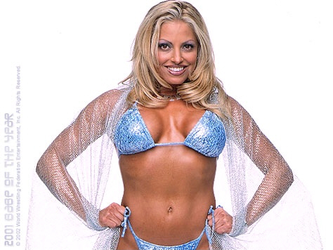 Girl Trish stratus shaved cunt