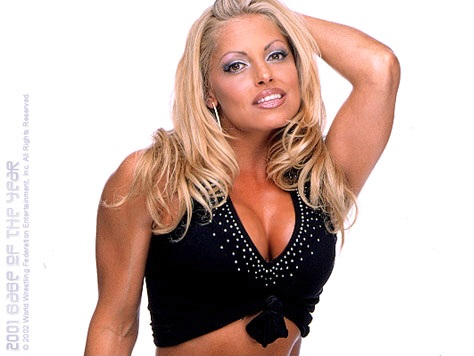 Trish Stratus Photoshoot Flashback