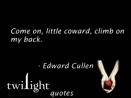 Twilight Series wallpaper called Twilight quotes 381-400