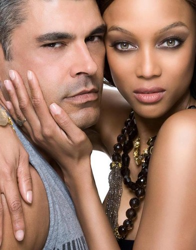 Tyra and Mike Ruiz