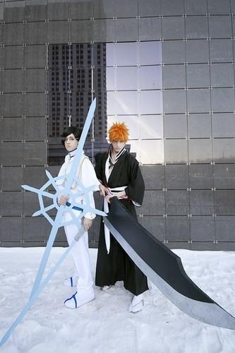 Uryū & Ichigo Cosplay