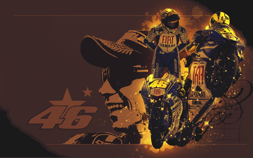 Valentino Rossi wallpaper entitled VR 46