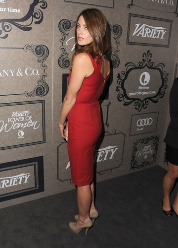Ashley Greene wallpaper possibly containing a cocktail dress, a playsuit, and a well dressed person titled Variety's 4th Annual Power Of Women Event Presented By Lifetime, Beverly Hills